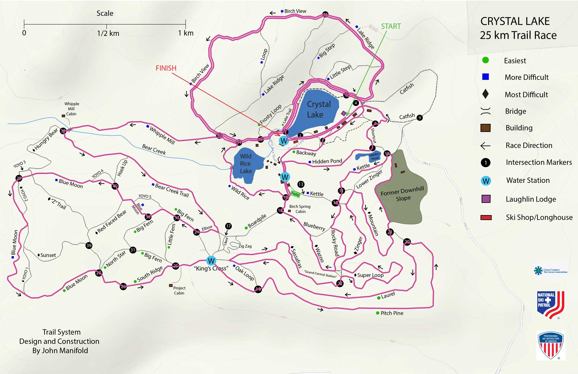 25K Trail Map